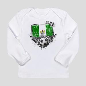 Soccer Fan Nigeria Long Sleeve Infant T-Shirt