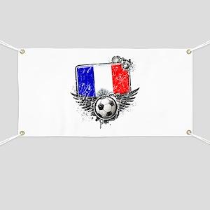 Soccer Fan France Banner