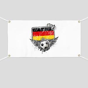 Soccer Fan Germany Banner