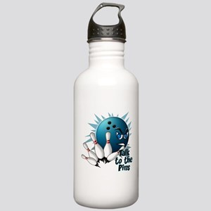 Talk to the Pins Stainless Water Bottle 1.0L