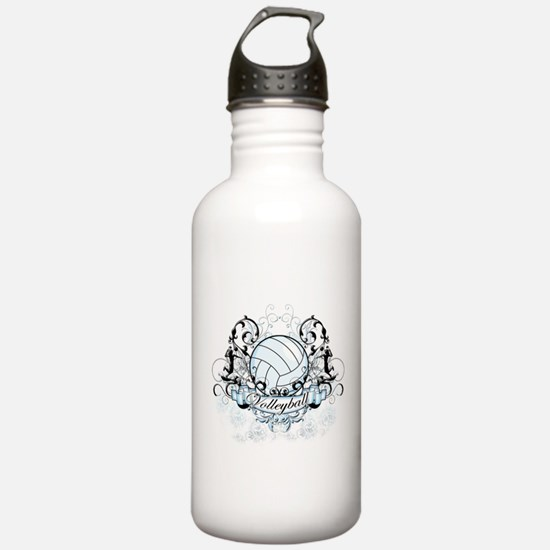 Volleyball Tribal Water Bottle