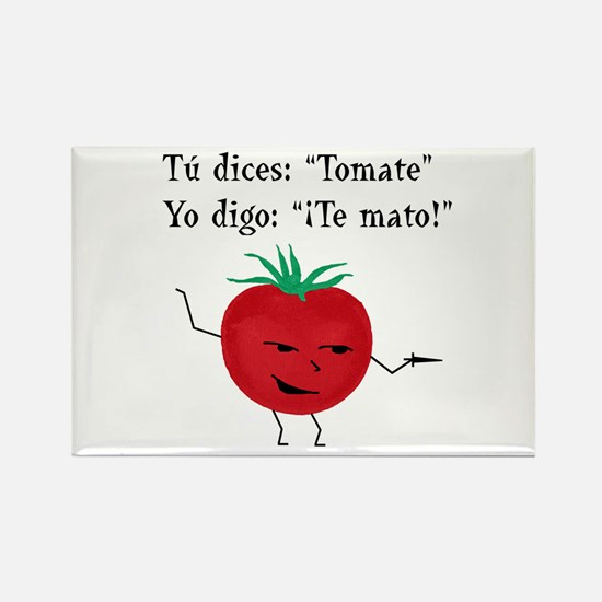 Tomate Rectangle Magnet