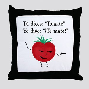 Tomate Throw Pillow