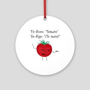 Tomate Ornament (Round)