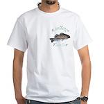 Walleye Hunter White T-Shirt