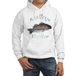 Walleye Hunter Hooded Sweatshirt