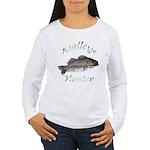 Walleye Hunter Women's Long Sleeve T-Shirt