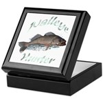 Walleye Hunter Keepsake Box