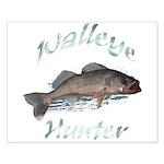 Walleye Hunter Small Poster