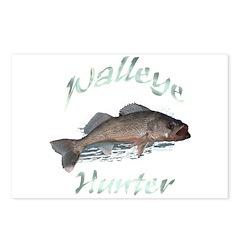 Walleye Hunter Postcards (Package of 8)