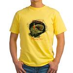 Musky Hunter Yellow T-Shirt