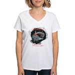Musky Hunter Women's V-Neck T-Shirt