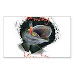 Musky Hunter Sticker (Rectangle 50 pk)