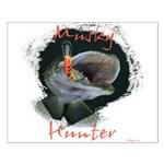 Musky Hunter Small Poster
