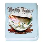 Musky Hunter baby blanket