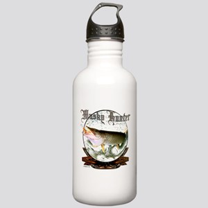 Musky Hunter Stainless Water Bottle 1.0L