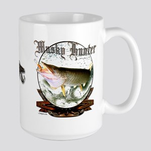 Musky Hunter Large Mug