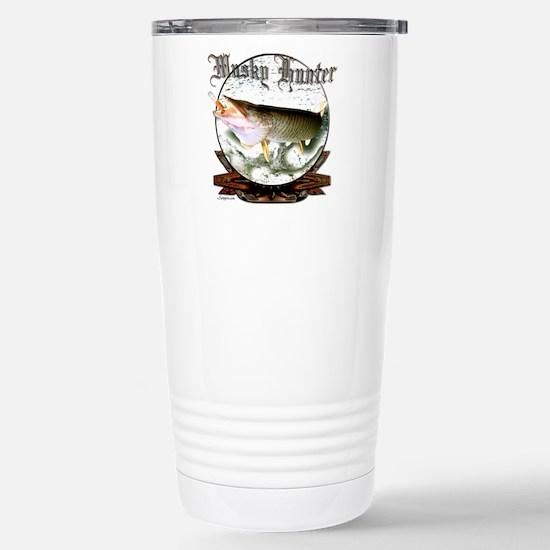 Musky Hunter Stainless Steel Travel Mug