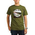 Musky Hunter Organic Men's T-Shirt (dark)