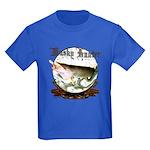 Musky Hunter Kids Dark T-Shirt