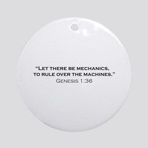 Machines / Genesis Ornament (Round)