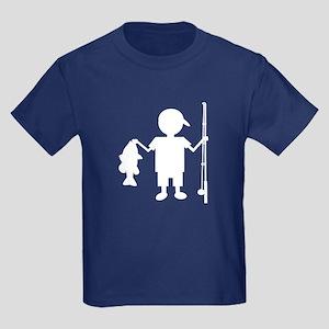 THE REEL BOY Kids Dark T-Shirt
