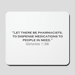 Pharmacists / Genesis Mousepad