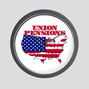 Union Pensions Wall Clock