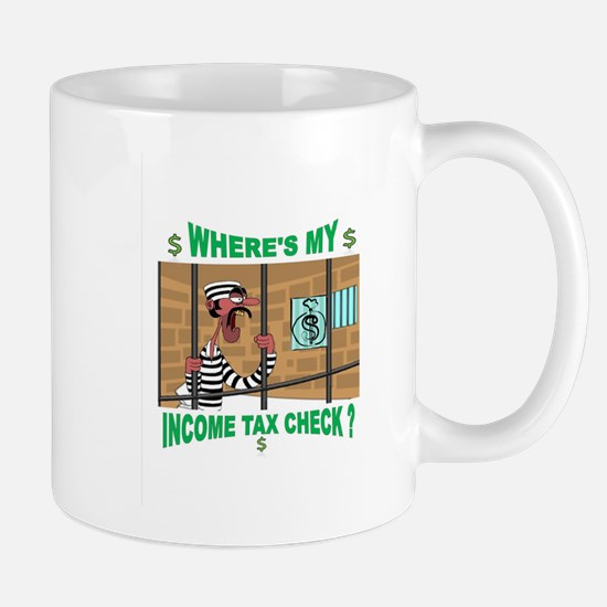 WHERE MY MONEY Mug