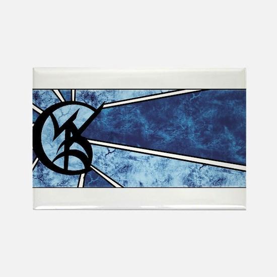 """Wedded Union"" Rune - Rectangle Magnet"