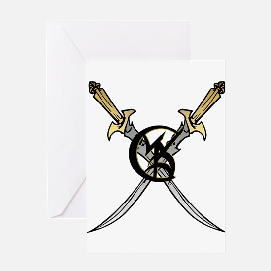 """""""Wedded Union"""" Rune - Greeting Card"""
