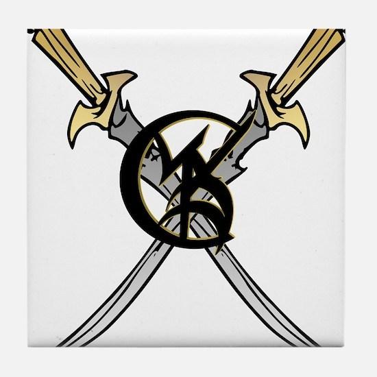 """Wedded Union"" Rune - Tile Coaster"