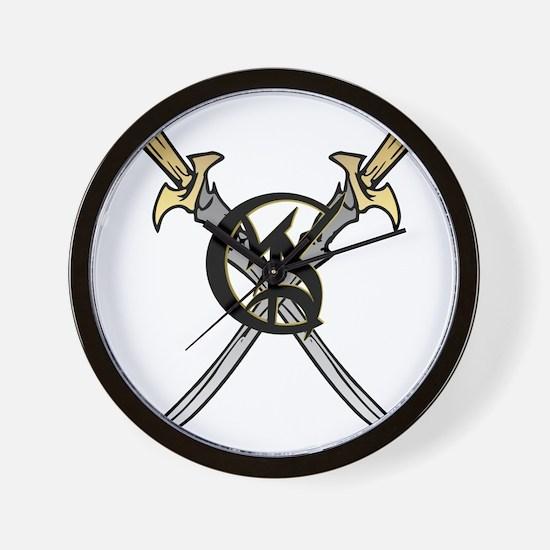 """""""Wedded Union"""" Rune - Wall Clock"""