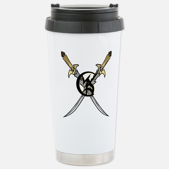 """Wedded Union"" Rune - Stainless Steel Travel Mug"