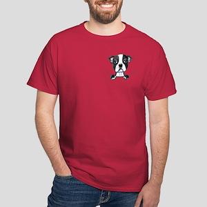 KiniArt Pocket Boston Dark T-Shirt