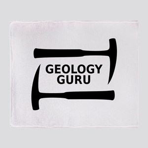 Geology Guru Throw Blanket