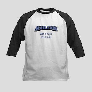 Railfan / Rails Kids Baseball Jersey