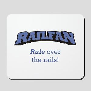 Railfan / Rails Mousepad