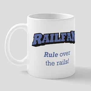 Railfan / Rails Mug
