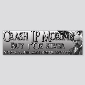 Crash JP Morgan with Madison Sticker (Bumper)