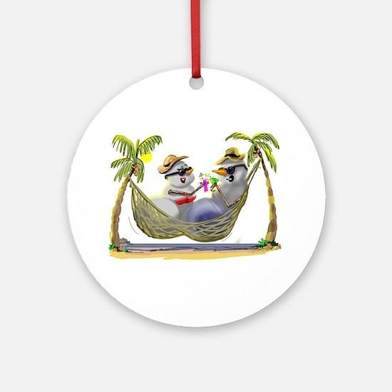 SnOwCoUpLe Ornament (Round)