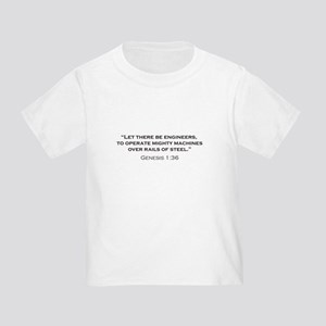 Engineers / Genesis Toddler T-Shirt