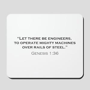Engineers / Genesis Mousepad