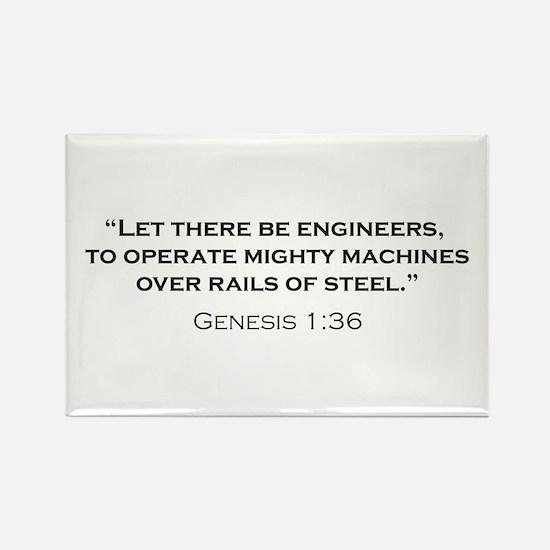 Engineers / Genesis Rectangle Magnet