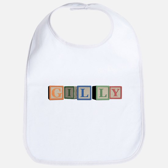 Gilly Alphabet Block Bib
