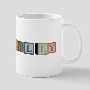 Gilly Alphabet Block Mug