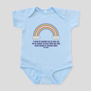 Double Rainbow Meaning Infant Bodysuit