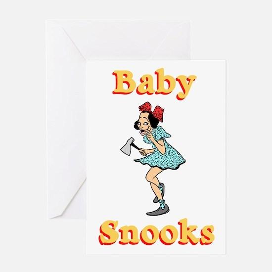 Baby Snooks #2 Greeting Card