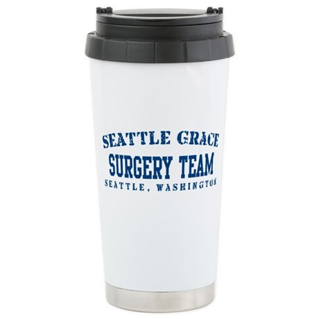 Surgery Team - Seattle Grace Stainless Steel Trave