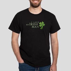 I Love My Irish Man Dark T-Shirt
